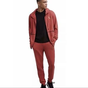 True Religion Red Goth Sweatsuit